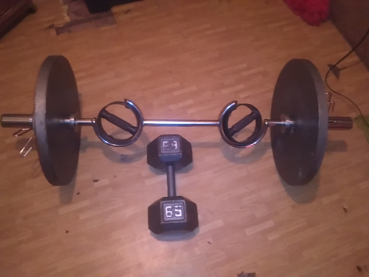 Indenpendence KS – Olympic weights for sale (6171) - Image 1