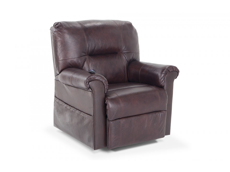 Newington Ct Leather Power Lift Recliner Brand New Bob 39 S